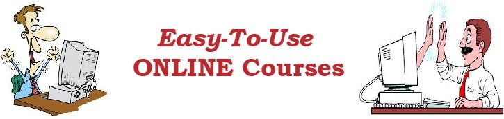Easy to use online courses