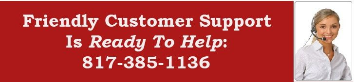 Customer Support (817) 385-1136